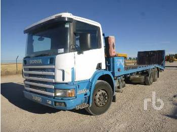 SCANIA 340 6x2 - portacontenedore/ intercambiable camión