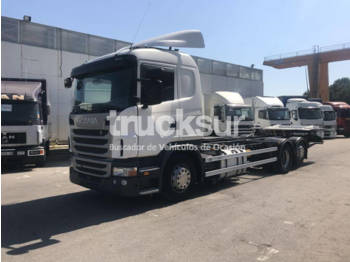 Scania G400 6X2*4 - portacontenedore/ intercambiable camión