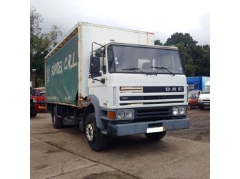 DAF 1900 ATI left hand drive 17.5 ton with tail lift on springs - toldo camión