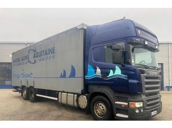 Scania R480 / TOPLINE / MANUAL / RETARDER / EURO-4 / GOOD  - toldo camión