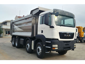 MAN 2015 TGS 41.400 E5 8X4 HARDOX TIPPER VERY GOOD CON. - volquete camión