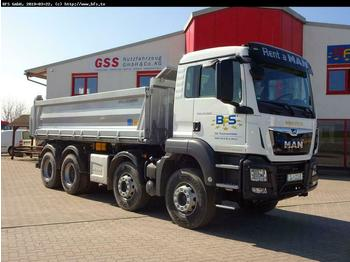 MAN TGS 35.460 8x4 BB Bordmatik links, 3-Seiten Kipp  - volquete camión