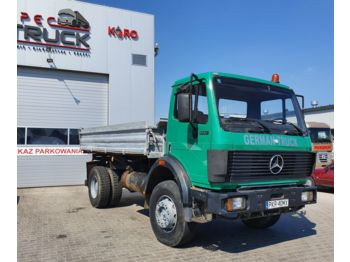 Volquete camión MERCEDES-BENZ 1722, Full Steel, 4x4 Tipper