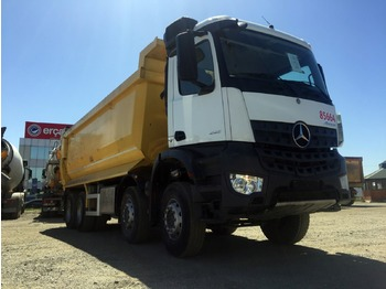 MERCEDES-BENZ 2017 4142 AROCS E6 8X4 AUTO HARDOX TIPPER 20 PCS AVAILABLE - volquete camión