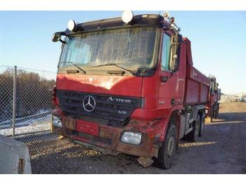 Mercedes-Benz ACTROS 3351 - SOON EXPECTED -  6X4 EPS FULL STEE  - volquete camión