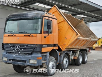 Mercedes-Benz Actros 4143 K 8X6 Manual BigAxle SteelSuspension 15m3 Euro 3 - volquete camión