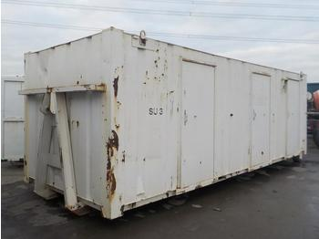 27` x 8` RORO Containerised Sleeper, 3 Compartments, to suit Hook Loader - contenedor de gancho