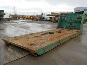 RORO Flat Bed to suit Hook Loader Lorry - contenedor de gancho