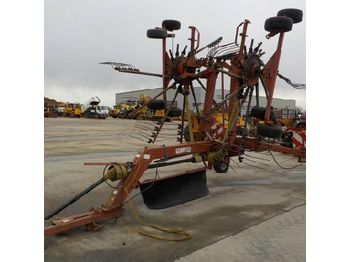 Fella TH781HY Single Axle PTO Driven Folding Hay Bob to suit 2 Point Linkage - henificadora