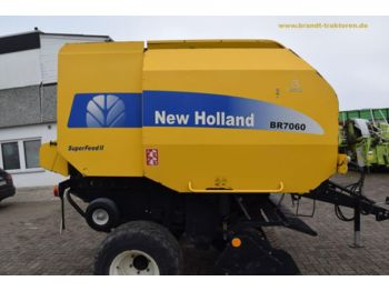 NEW HOLLAND BR 7060 Superfeed II - rotoempacadora