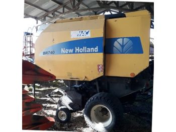 New Holland 740 - rotoempacadora
