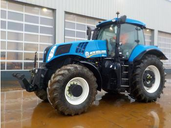 2013 New Holland T8.330 - tractor agricola