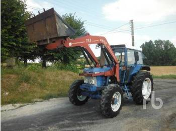 FORD 6610 4WD Agricultural Tractor - tractor agricola