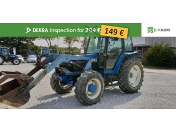 Ford 6640 SLE - tractor agricola