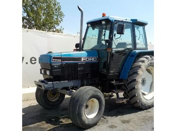 Ford 7740 - tractor agricola