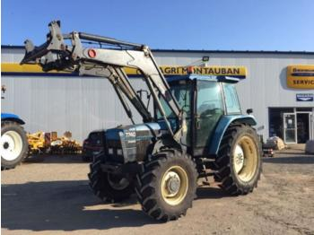 Tractor agricola Ford 7740 sle + chargeur