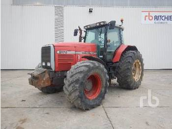 MASSEY FERGUSON 8170 Tracteur 4WD Agricultural Tractor - tractor agricola