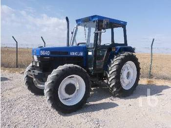 NEW HOLLAND 6640 - tractor agricola