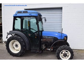 NEW HOLLAND TN 75 N - tractor agricola