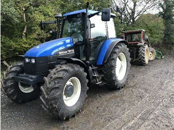 NEW HOLLAND TS115 - tractor agricola