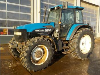 New Holland 8160 - tractor agricola