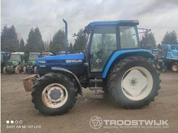New Holland FORD 7740 - tractor agricola