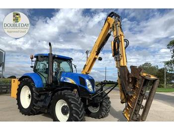 Tractor agricola New Holland T6090 & Herder mower: foto 1
