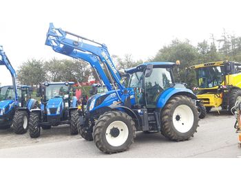New Holland T6.155 SideWinder II  - tractor agricola