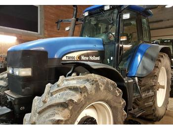 New Holland TM 190 with dual wheels  - tractor agricola