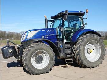 New Holland T 7.270 AC BLUE POWER / Low hours / Dutch machin  - tractor agricola