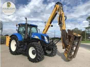 Tractor agricola New Holland t6090 & herder mower