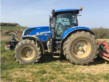 New Holland t7.245 ac + gps - tractor agricola