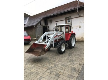 Tractor agricola Steyr 8080a Turbo mit Frontlader