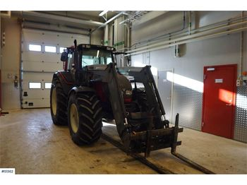 VALTRA N141, Tractor with front loaders - tractor agricola