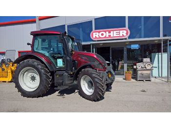 Valtra N124 HiTech  - tractor agricola