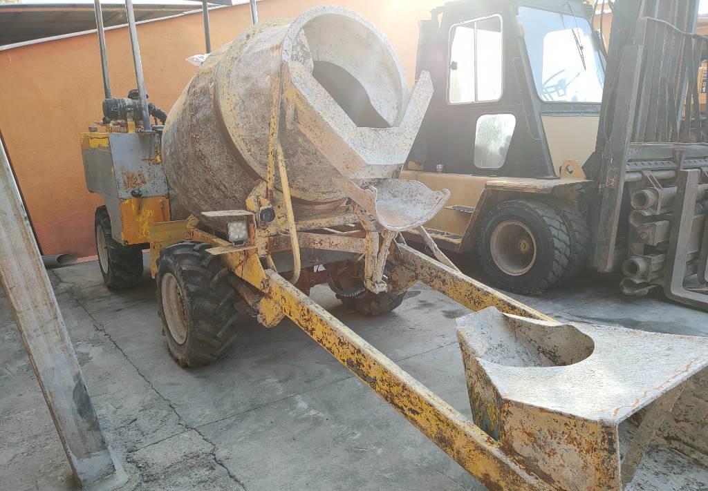 camión hormigonera Dumec BT1400