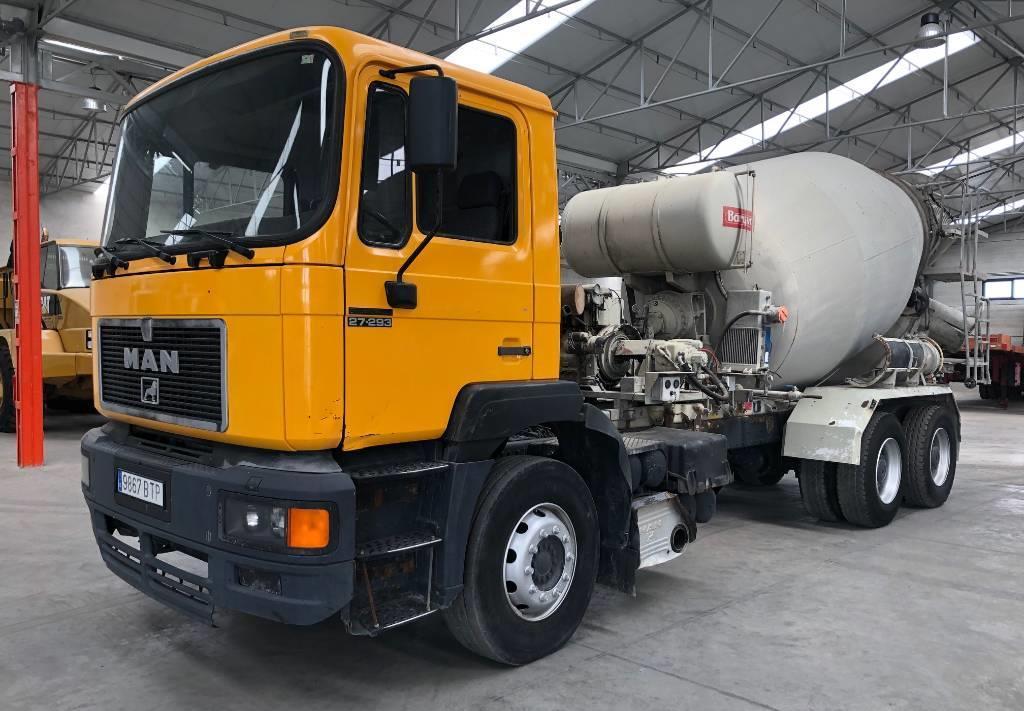 camión hormigonera MAN 27.293DF