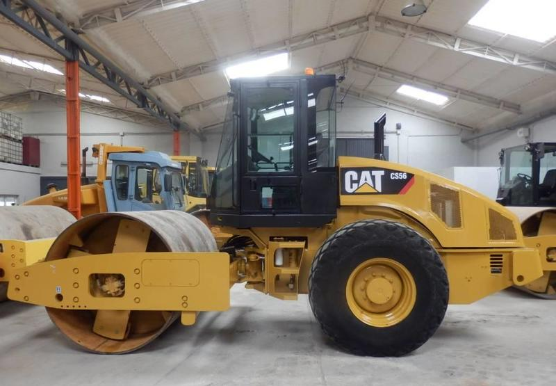 compactador Caterpillar CS 56