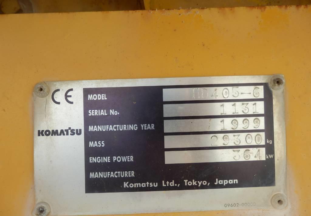 dúmper rígido Komatsu HD405