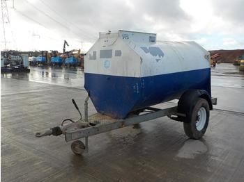 Bowser Supply 2000Litre Single Axle Bunded Fuel Bowser, Eletric Pump - equipo de construcción