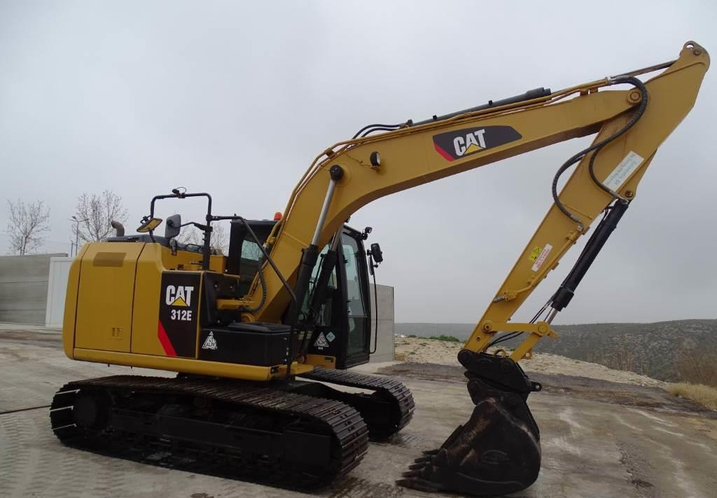 excavadora de cadenas Caterpillar 312 E
