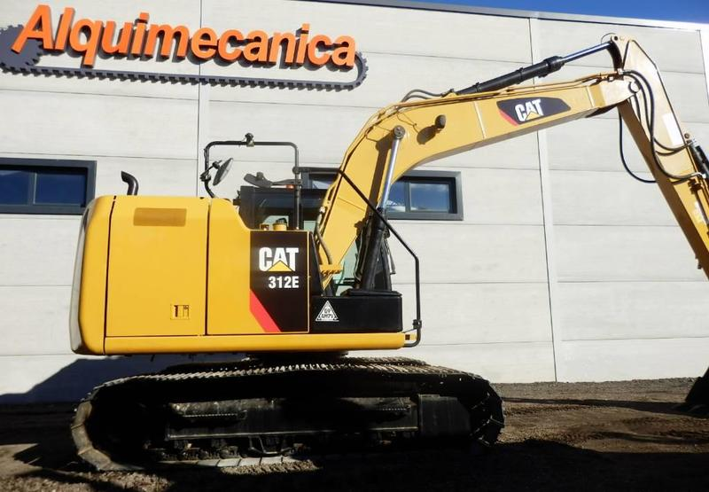 1014d4fe857 🔥 Más sobre excavadora de cadenas Caterpillar 312 E usado en venta ...