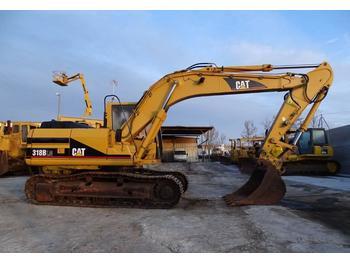 Excavadora de cadenas Caterpillar 318 B LN