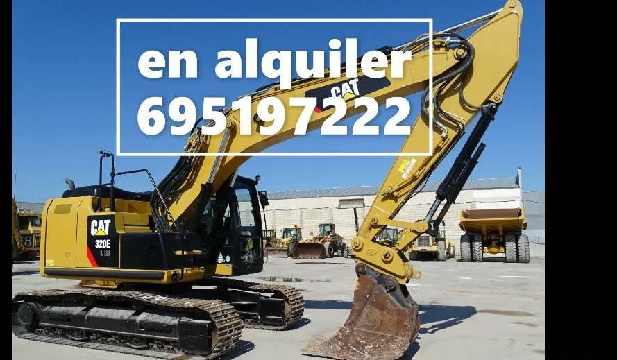 excavadora de ruedas Caterpillar 320 EL RR