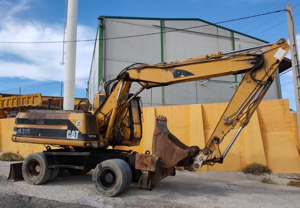 excavadora de ruedas Caterpillar M 318