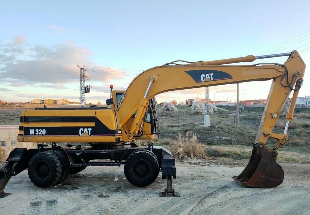 excavadora de ruedas Caterpillar M 320
