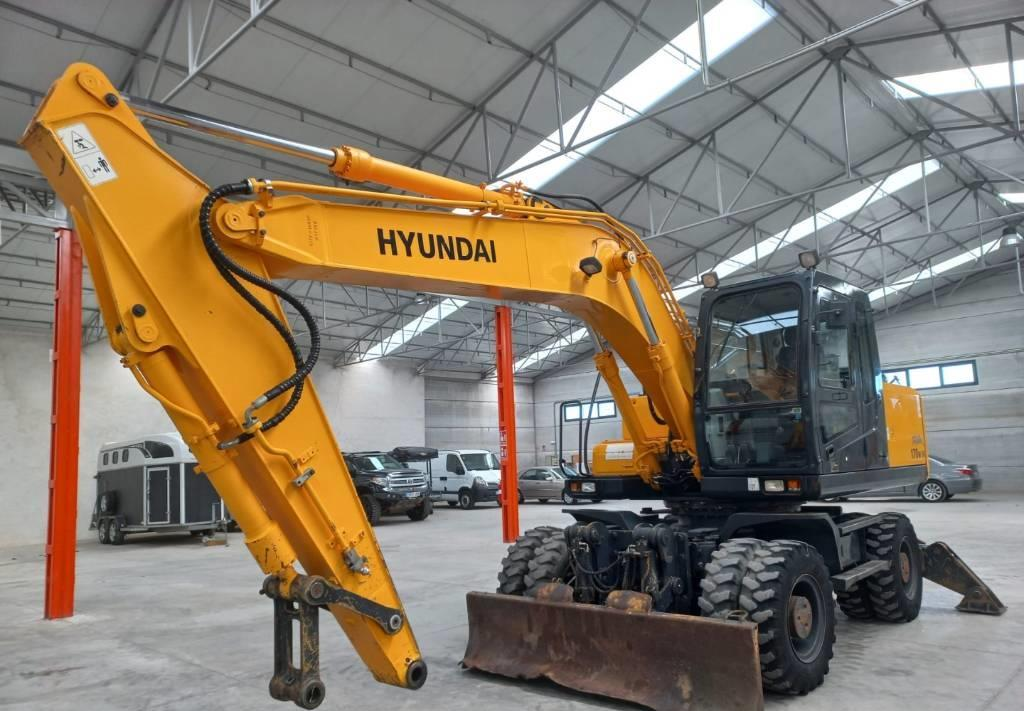 excavadora de ruedas Hyundai ROLEX 170W-7A