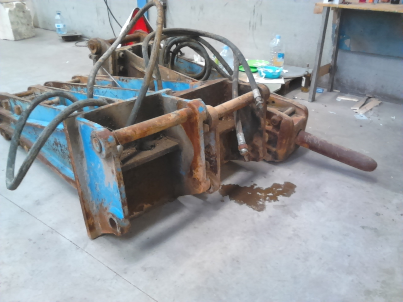 maquinaria de construcción Krupp 1400