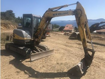 NEW HOLLAND KOBELCO 50.2 5R - miniexcavadora