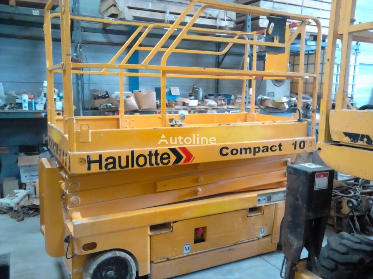 plataforma de tijeras HAULOTTE Compact 10